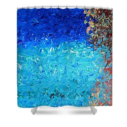 Coral Reef I Shower Curtain