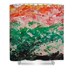 Coral Reef II Shower Curtain