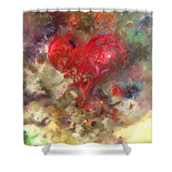 Corazon Shower Curtain