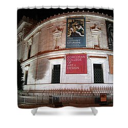 Corcoran Gallery Of Art Shower Curtain by Cora Wandel