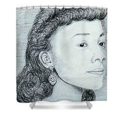 Coretta Scott King Shower Curtain