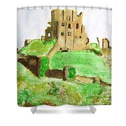 Corfe Castle Shower Curtain