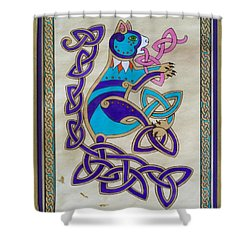 Corky's Journey Shower Curtain by Beth Clark-McDonal