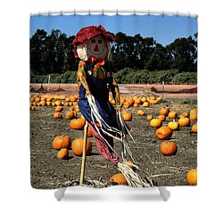 Shower Curtain featuring the photograph Corn Mom by Michael Gordon