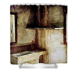 Corner Of Kitchen Shower Curtain by RicardMN Photography