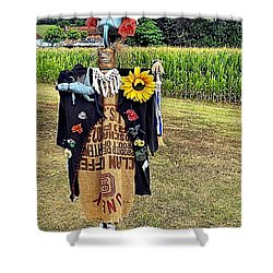 Cornfield Fete Shower Curtain by Lauren Leigh Hunter Fine Art Photography
