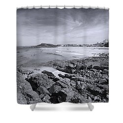 Cornwall Coastline 2 Shower Curtain by Doug Wilton