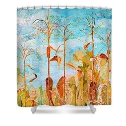 Corny Shower Curtain