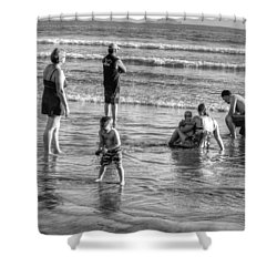 Coronado Beach Tourist Shower Curtain