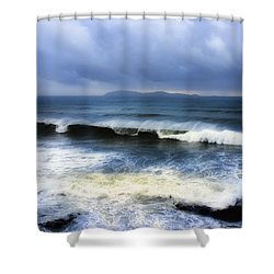 Coronado Islands In Storm Shower Curtain