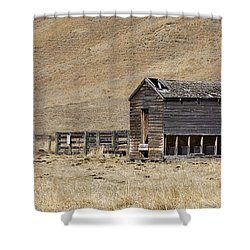 Corral Shower Curtain by Dee Cresswell