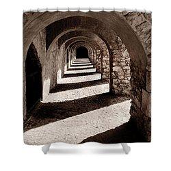 Corridors Of Stone Shower Curtain