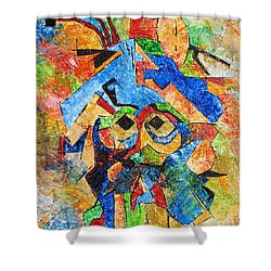 Cortes 748 - Marucii Shower Curtain