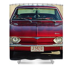 Corvair Shower Curtain by Frozen in Time Fine Art Photography