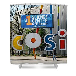 D7l-80 Cosi Columbus Photo Shower Curtain