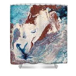 Cosmic Blend Four Shower Curtain by M West