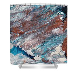 Cosmic Blend Three Shower Curtain by M West