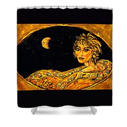 Cosmic Child Shower Curtain