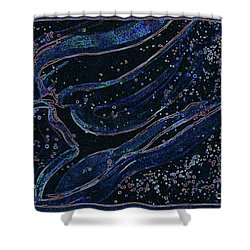 Cosmic Dancer By Jrr Shower Curtain by First Star Art