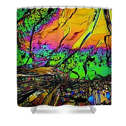 Cosmic Explosion Shower Curtain