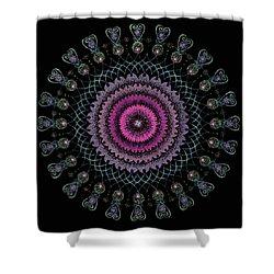 Cosmic Hug Shower Curtain