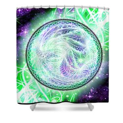 Cosmic Lifestream Shower Curtain