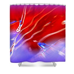 Cosmic Series 007 Shower Curtain
