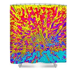 Cosmic Series 015 Shower Curtain