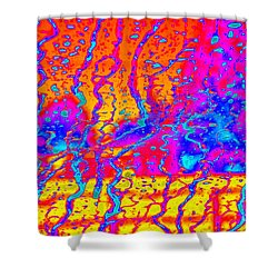 Cosmic Series 018 Shower Curtain