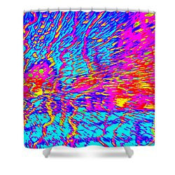 Cosmic Series 021 Shower Curtain