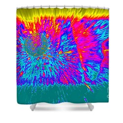 Cosmic Series 022 Shower Curtain