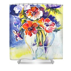 Cosmos I Shower Curtain