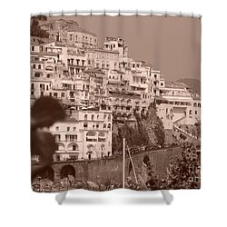 Costiera Amalfitana Shower Curtain