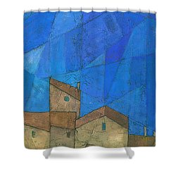 Cote D Azur II Shower Curtain by Steve Mitchell