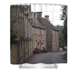 Cotswold Cottages Shower Curtain by John Williams