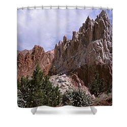 Cottonwood Spires 2-sq Shower Curtain