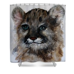 Antares - Cougar Cub Shower Curtain