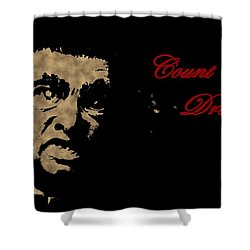 Count Dracula Visits Halifax Shower Curtain by John Malone