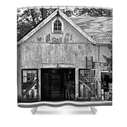 Country - Barn Country Maintenance Shower Curtain by Mike Savad