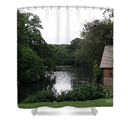 Shower Curtain featuring the photograph Country Estate by Bev Conover