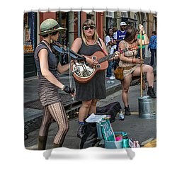 Country In The French Quarter Shower Curtain by Steve Harrington