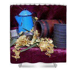 Country Life Shower Curtain by Pamela Walton