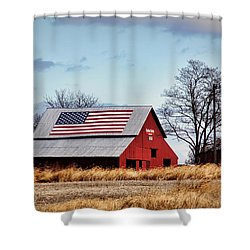Country Pride Shower Curtain