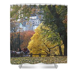 Shower Curtain featuring the photograph Country Ride In The City by Barbara McDevitt