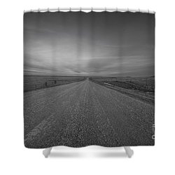 A Country Road Of South Dakota Shower Curtain