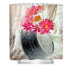 Country Summer - Photopower 1499 Shower Curtain by Pamela Critchlow