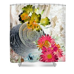 Country Summer - Photopower 1509 Shower Curtain by Pamela Critchlow