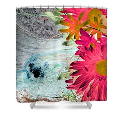 Country Summer - Photopower 1510 Shower Curtain by Pamela Critchlow