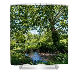 Country Tranquility Shower Curtain