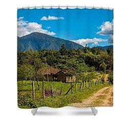Countryside In Boyaca Colombia Shower Curtain by Jess Kraft